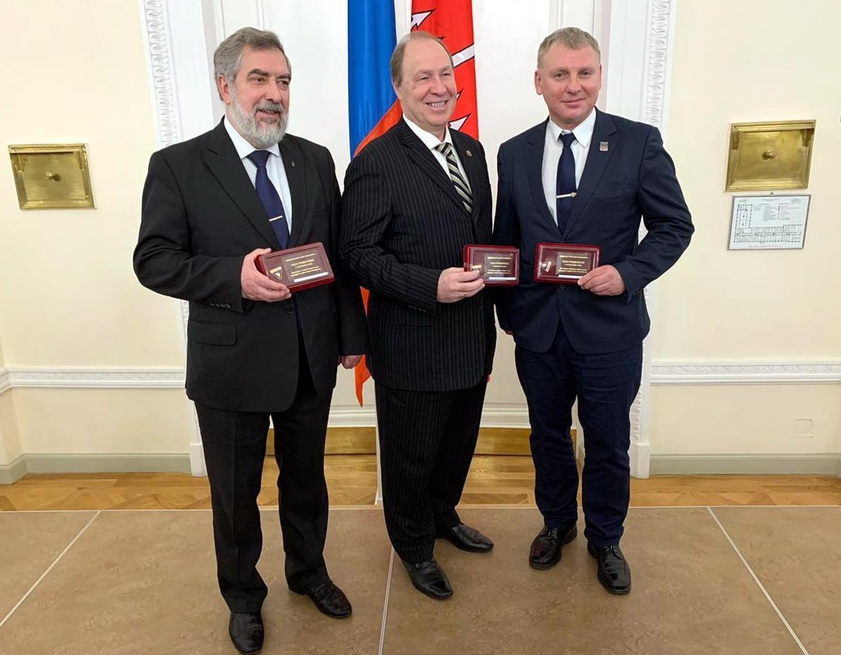 В Смольном наградили лучших спортсменов и тренеров города